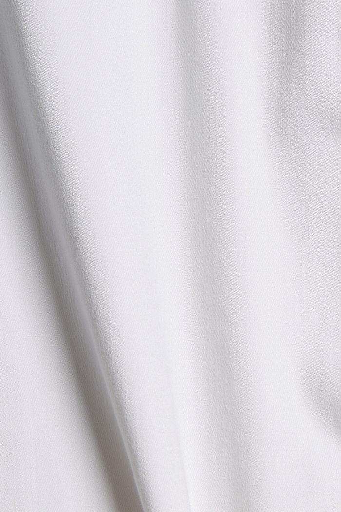 Džíny po kotníky s obzvlášť strečovým pohodlím, WHITE, detail image number 4