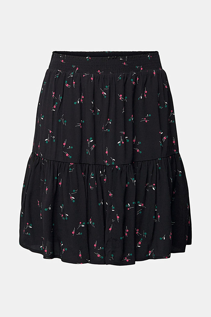 Flounce skirt with LENZING™ ECOVERO™