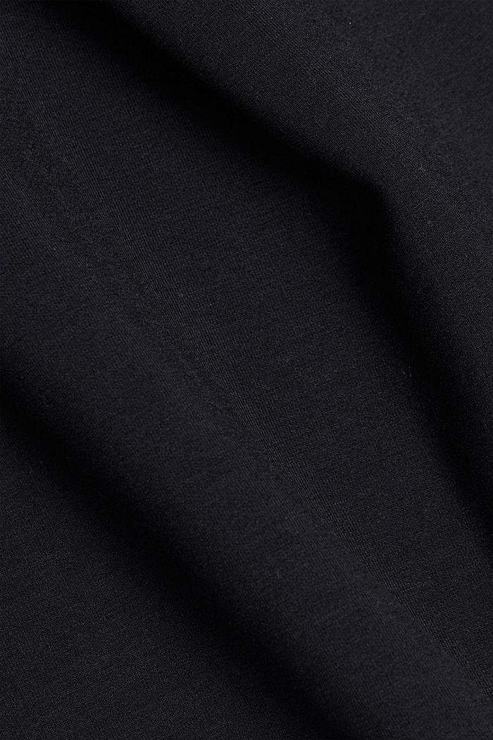 Midirok van jersey, BLACK, detail image number 4
