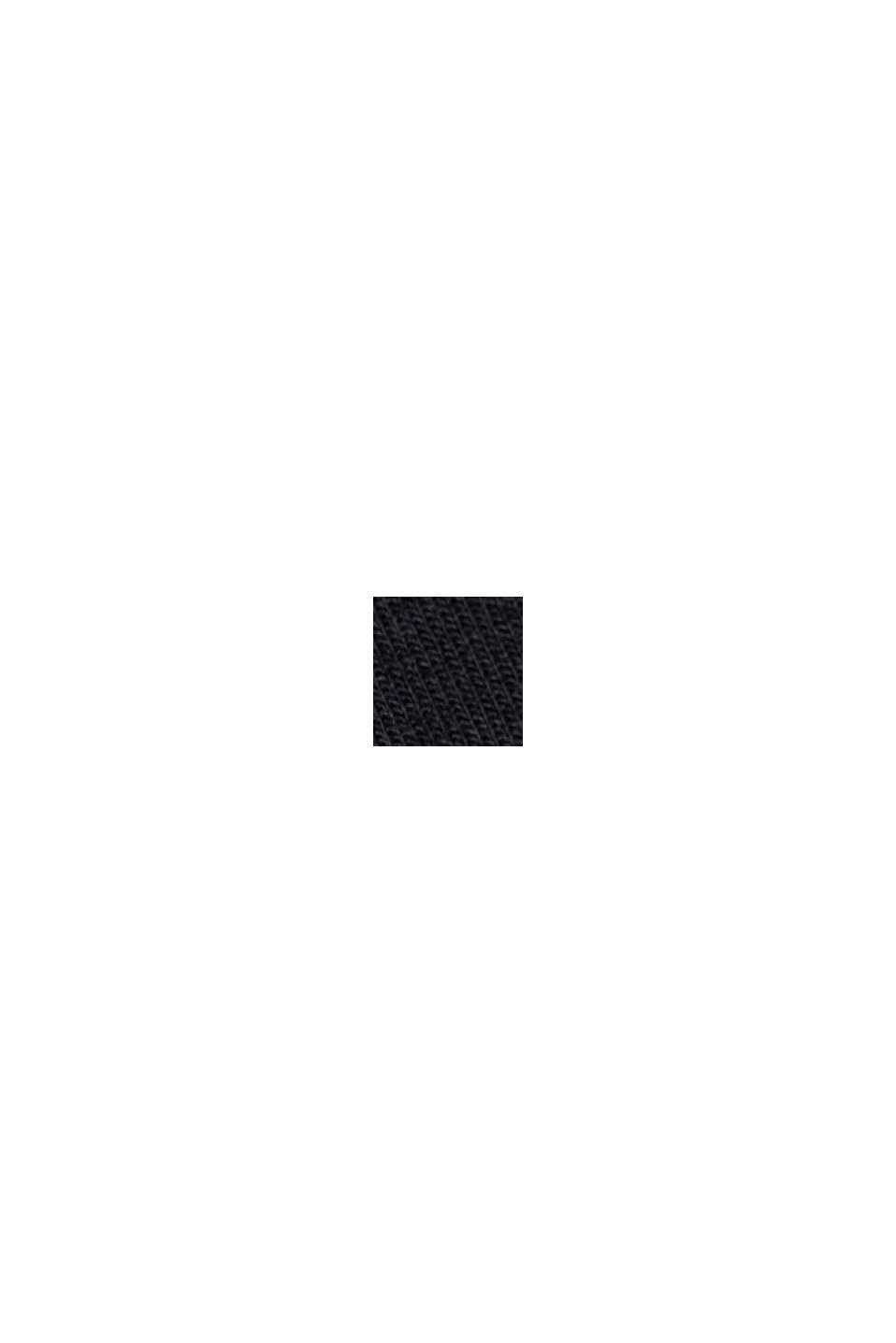 Midirok van jersey, BLACK, swatch