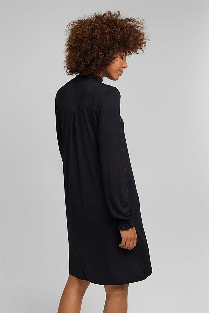 LENZING™ ECOVERO™ dress, NEW BLACK, detail image number 2