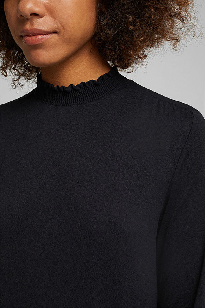 LENZING™ ECOVERO™ dress, NEW BLACK, detail image number 3