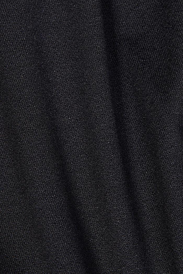 LENZING™ ECOVERO™ dress, NEW BLACK, detail image number 4