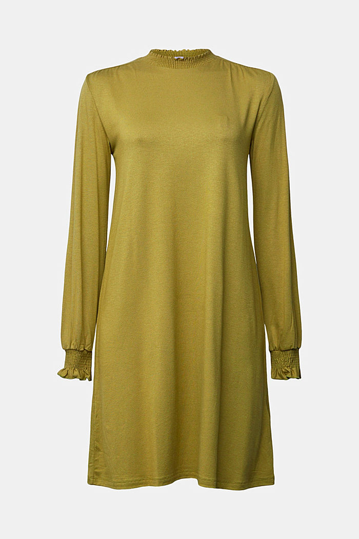 LENZING™ ECOVERO™ dress, OLIVE, detail image number 5