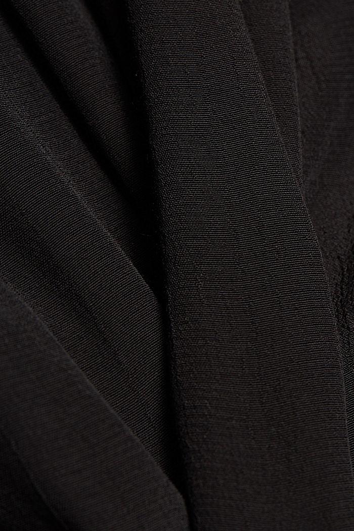 LENZING™ ECOVERO™ dress, BLACK, detail image number 4