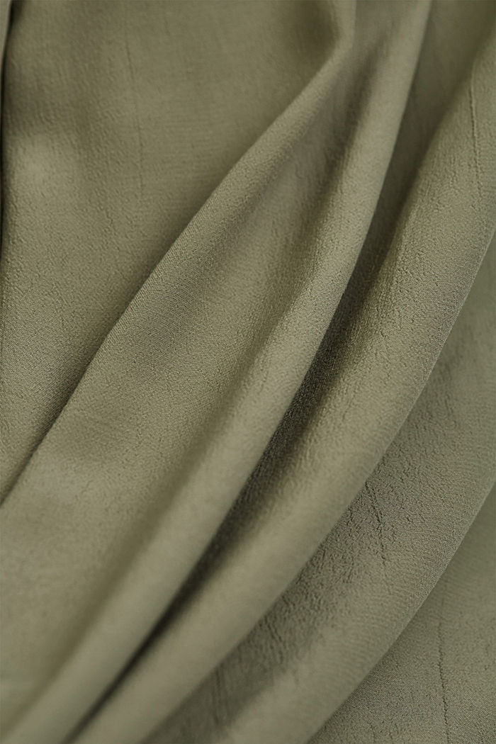 LENZING™ ECOVERO™ dress, LIGHT KHAKI, detail image number 4