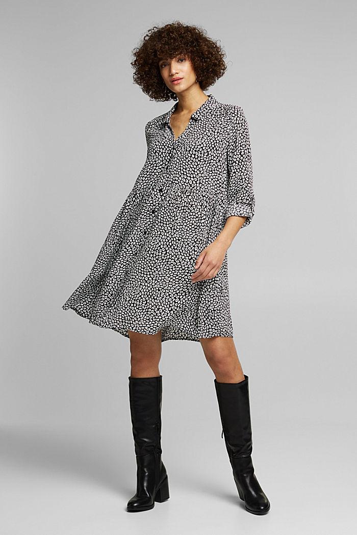 LENZING™ ECOVERO™ dress, BLACK, detail image number 5