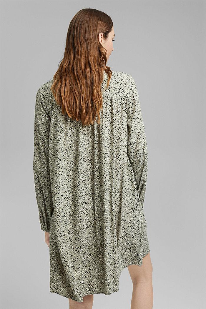 Kleid aus LENZING™ ECOVERO™, LIGHT KHAKI, detail image number 2