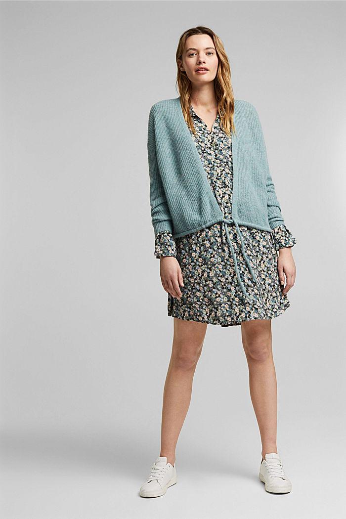 LENZING™ ECOVERO™ dress, KHAKI, detail image number 1
