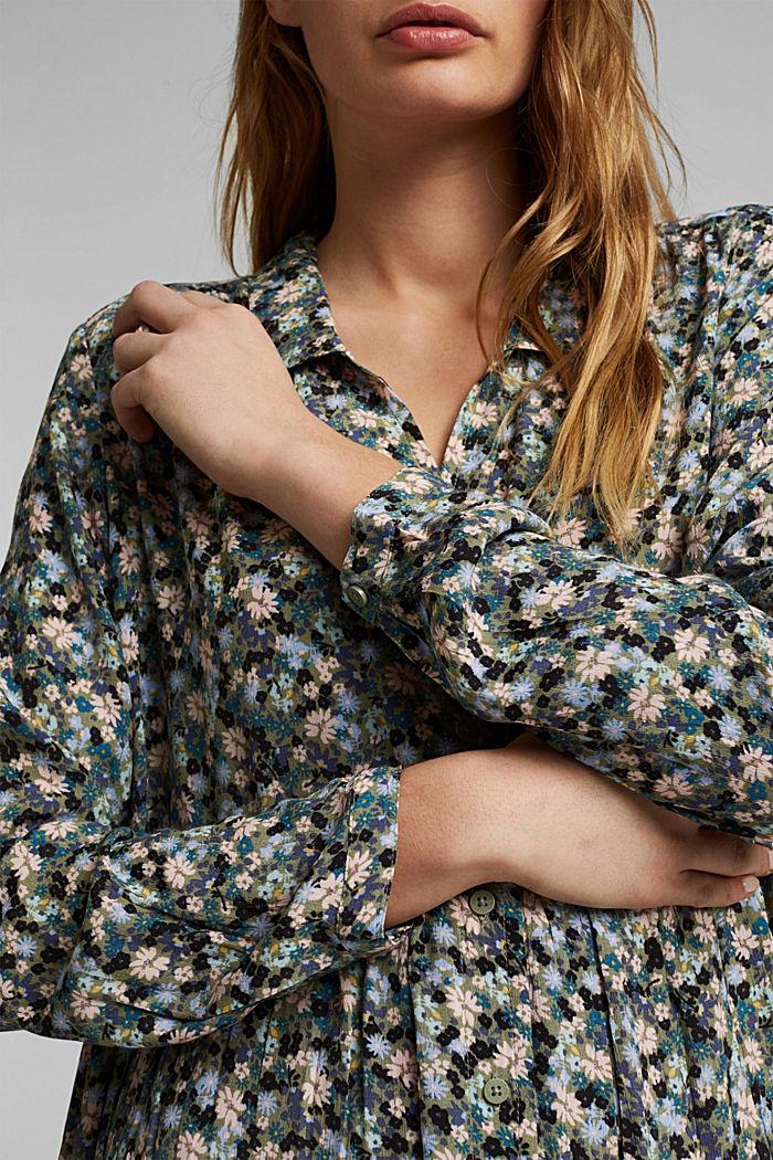 LENZING™ ECOVERO™ dress, KHAKI, detail image number 3