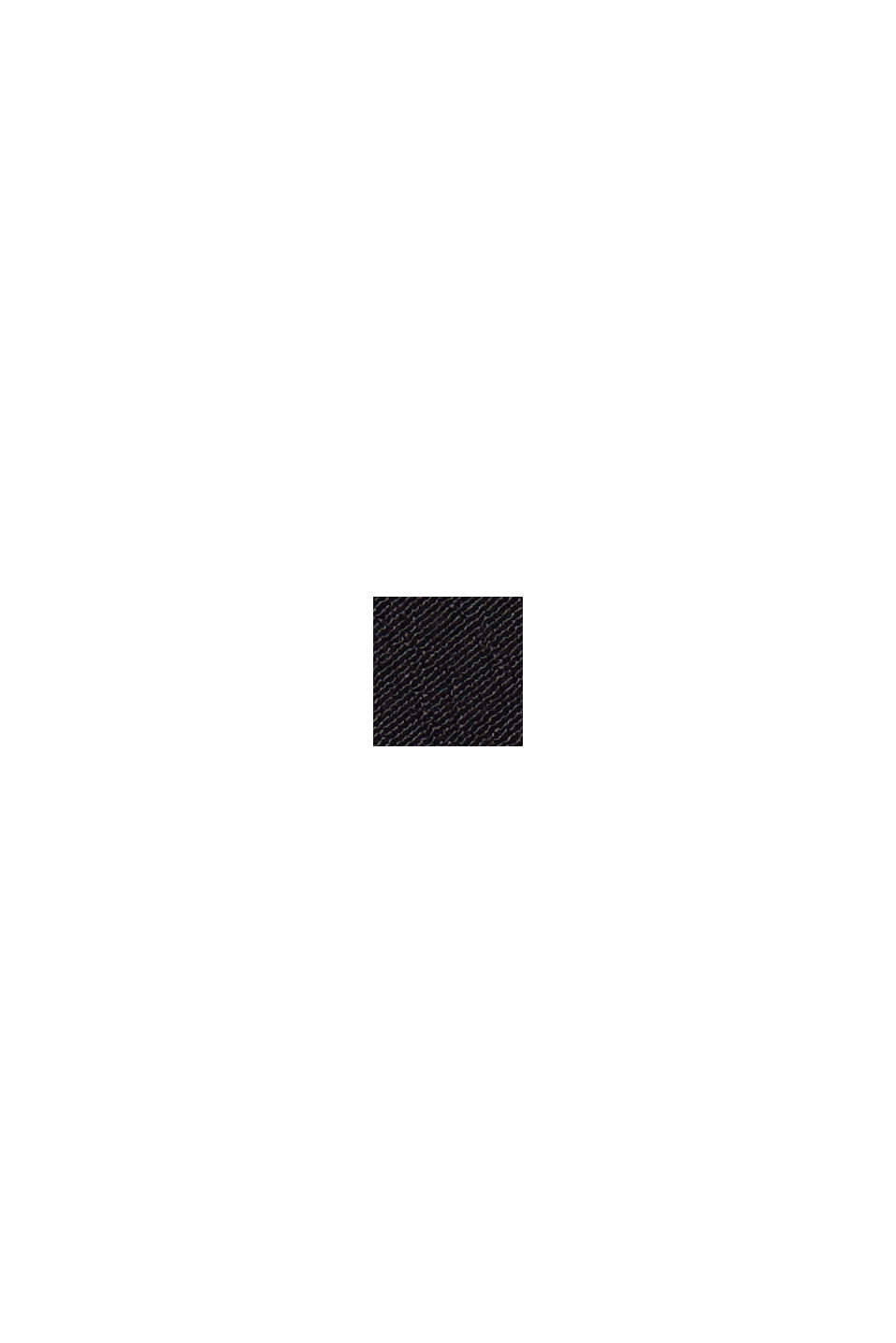 Blouse with LENZING™ ECOVERO™, BLACK, swatch
