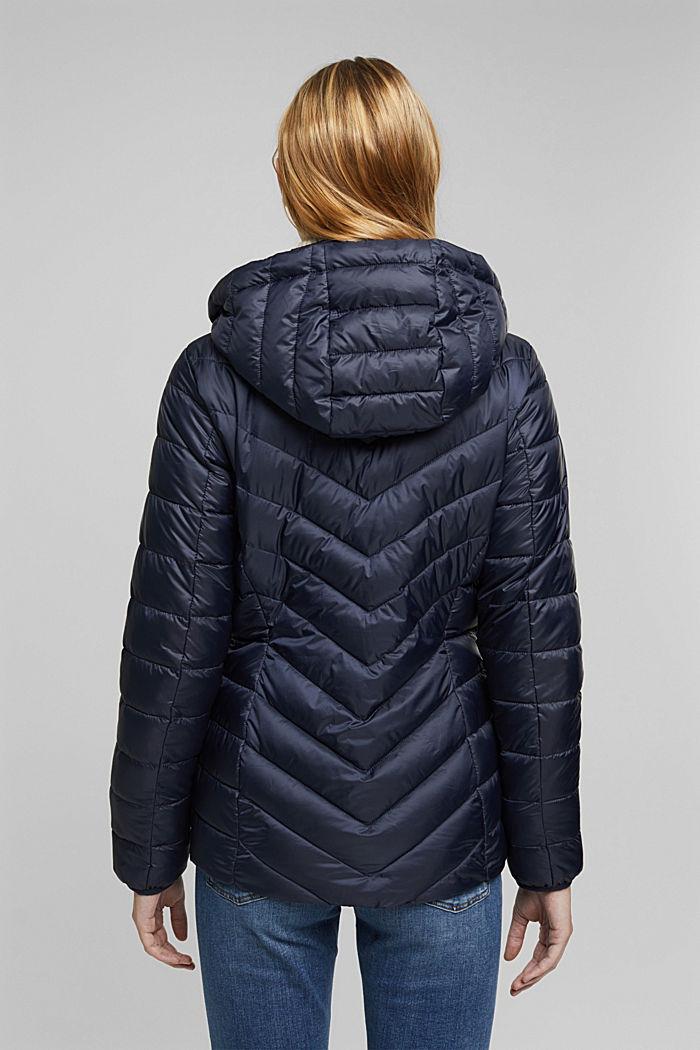 En matière recyclée: la veste en 3M™ Thinsulate™, NAVY, detail image number 3