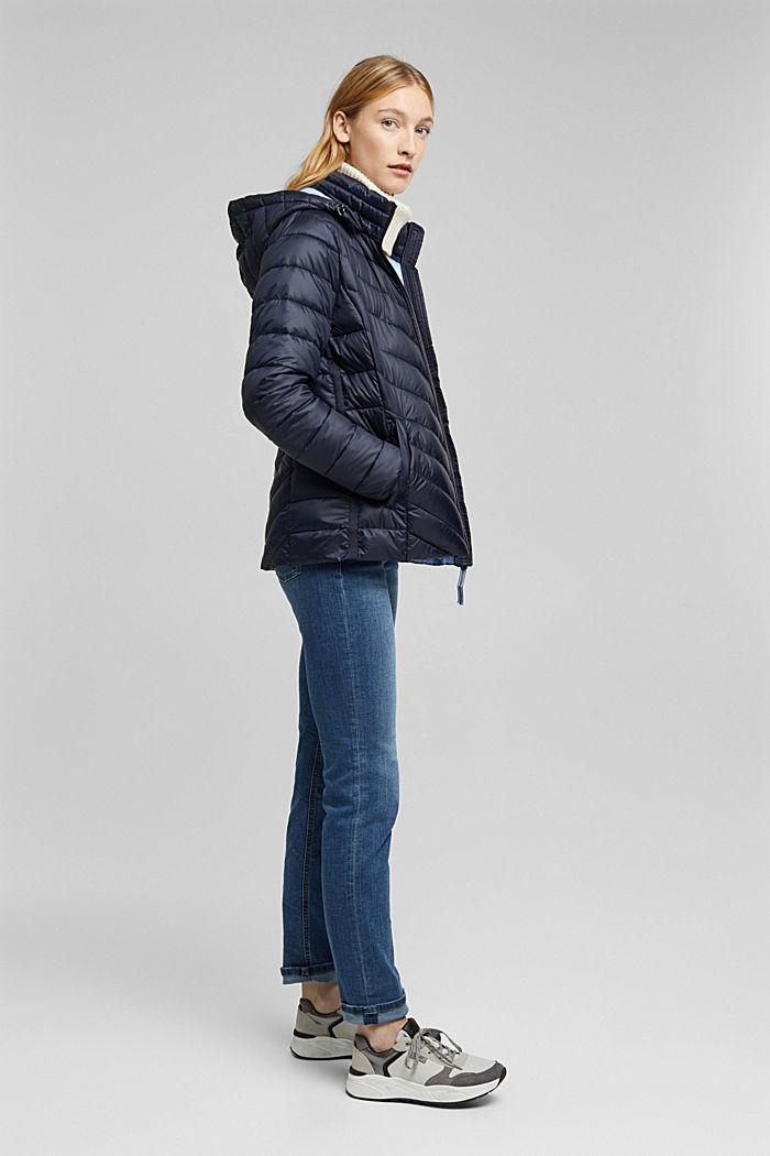En matière recyclée: la veste en 3M™ Thinsulate™, NAVY, detail image number 5