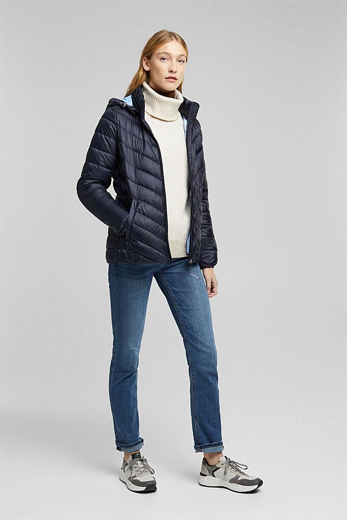 En matière recyclée: la veste en 3M™ Thinsulate™, NAVY, detail image number 1
