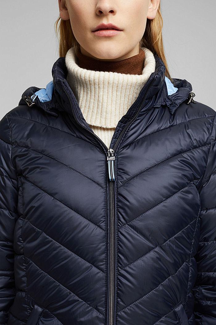 En matière recyclée: la veste en 3M™ Thinsulate™, NAVY, detail image number 2