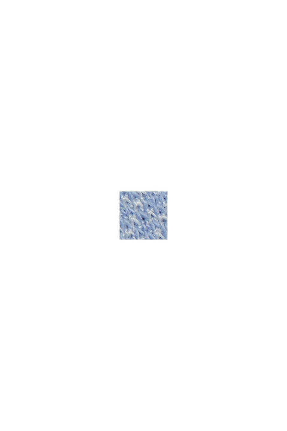 Blazermantel aus Baumwoll-Mix, PASTEL BLUE, swatch