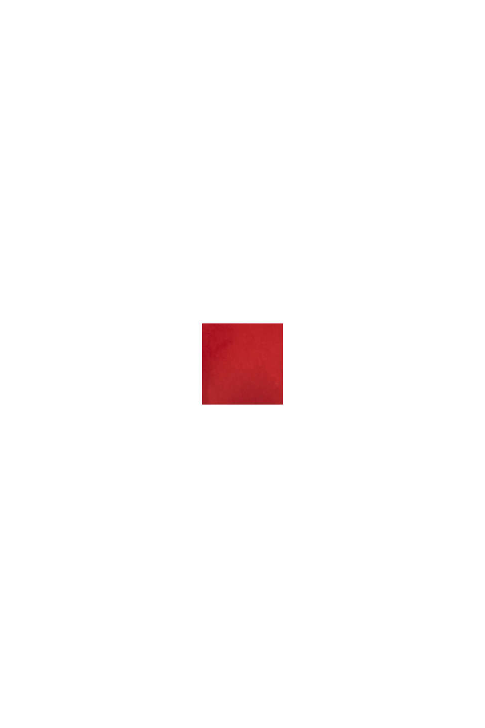 En matière recyclée: la veste matelassée à capuche ajustable, RED, swatch