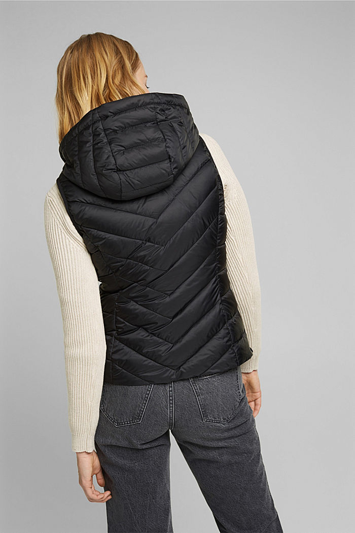 Quilted body warmer with 3M™ Thinsulate™, BLACK, detail image number 3