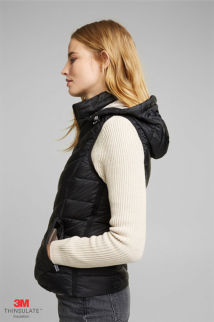 Quilted body warmer with 3M™ Thinsulate™, BLACK, detail image number 5