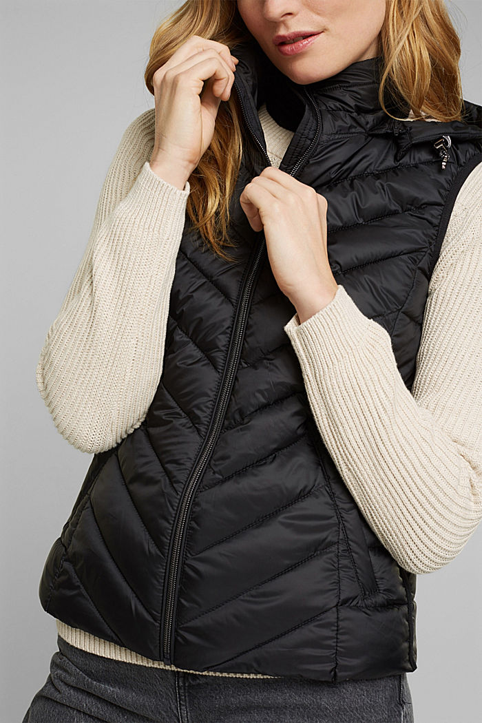 Quilted body warmer with 3M™ Thinsulate™, BLACK, detail image number 2