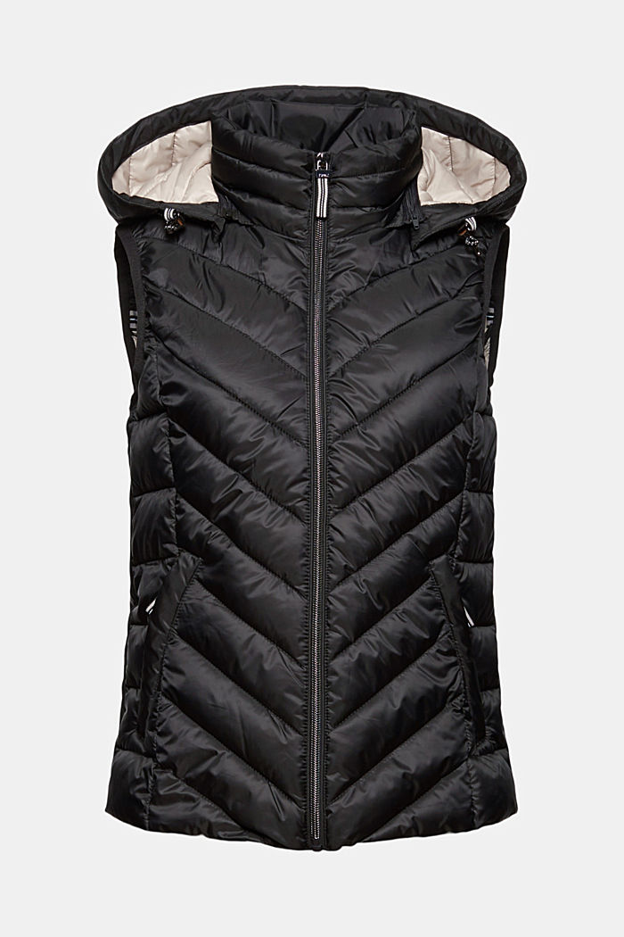 Quilted body warmer with 3M™ Thinsulate™, BLACK, detail image number 6