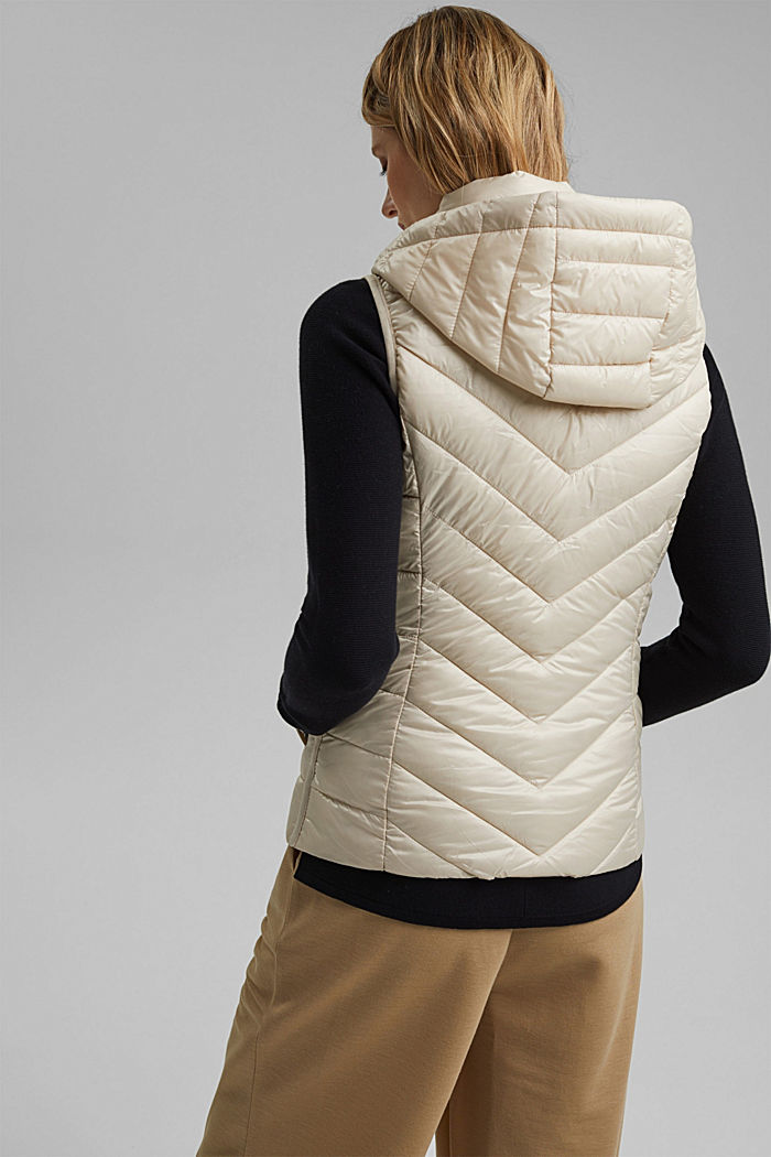 Quilted body warmer with 3M™ Thinsulate™, CREAM BEIGE, detail image number 3