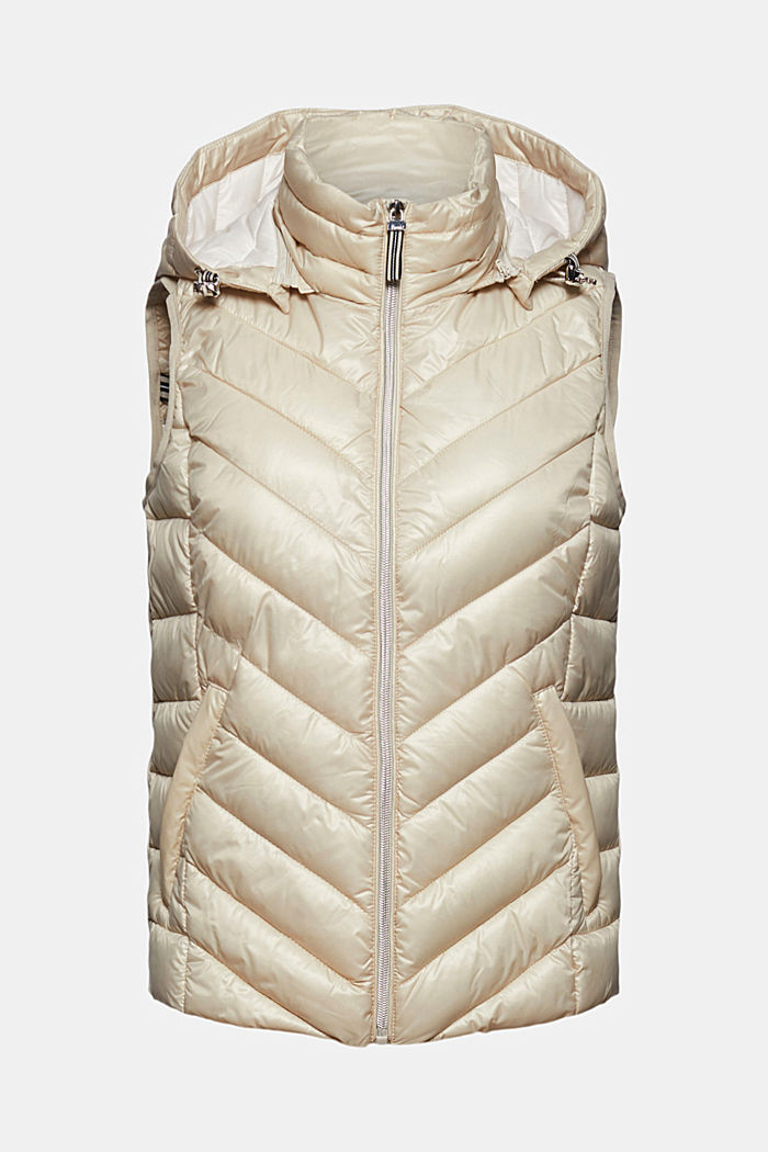 Quilted body warmer with 3M™ Thinsulate™, CREAM BEIGE, detail image number 6