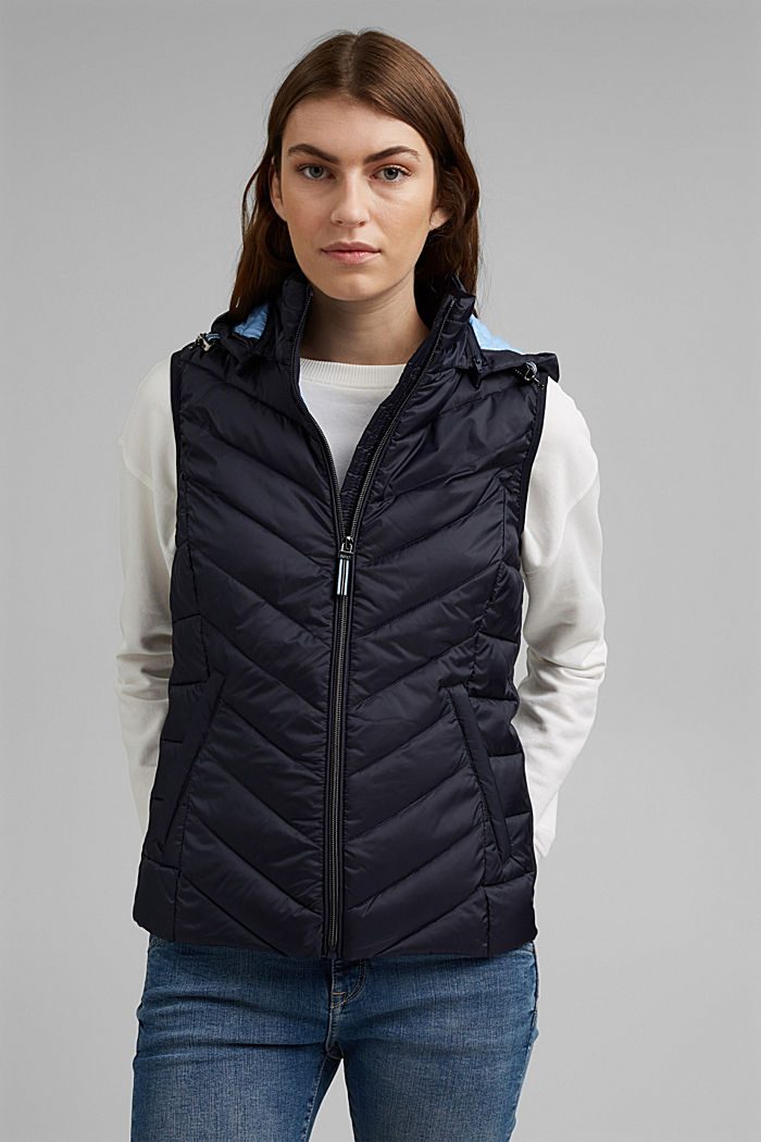Quilted body warmer with 3M™ Thinsulate™, NAVY, detail image number 0