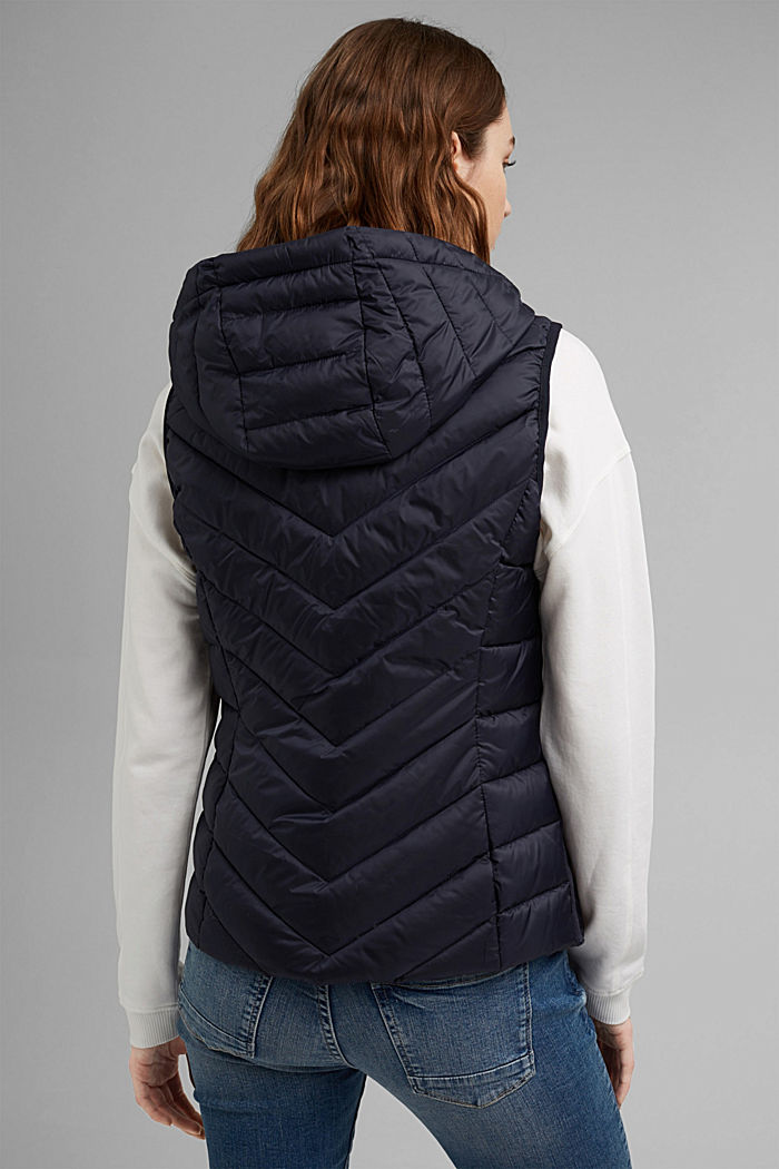 Quilted body warmer with 3M™ Thinsulate™, NAVY, detail image number 3