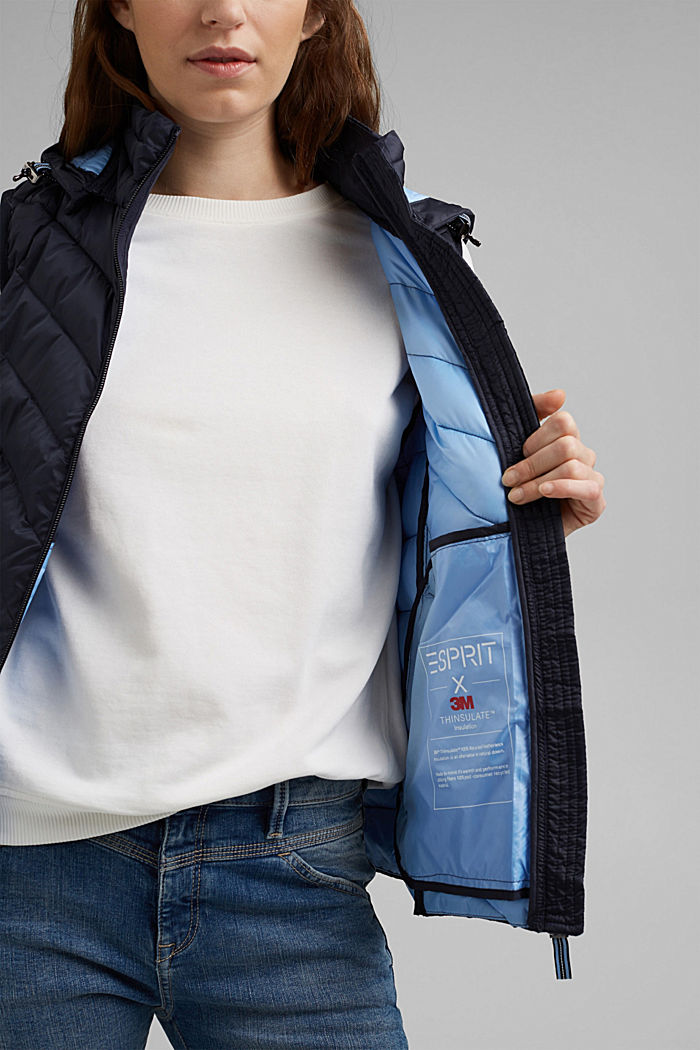 Quilted body warmer with 3M™ Thinsulate™, NAVY, detail image number 5
