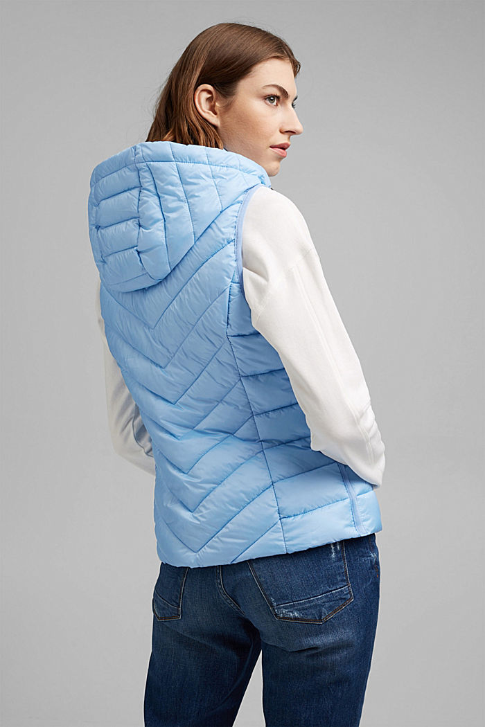 Quilted body warmer with 3M™ Thinsulate™, LIGHT BLUE, detail image number 3