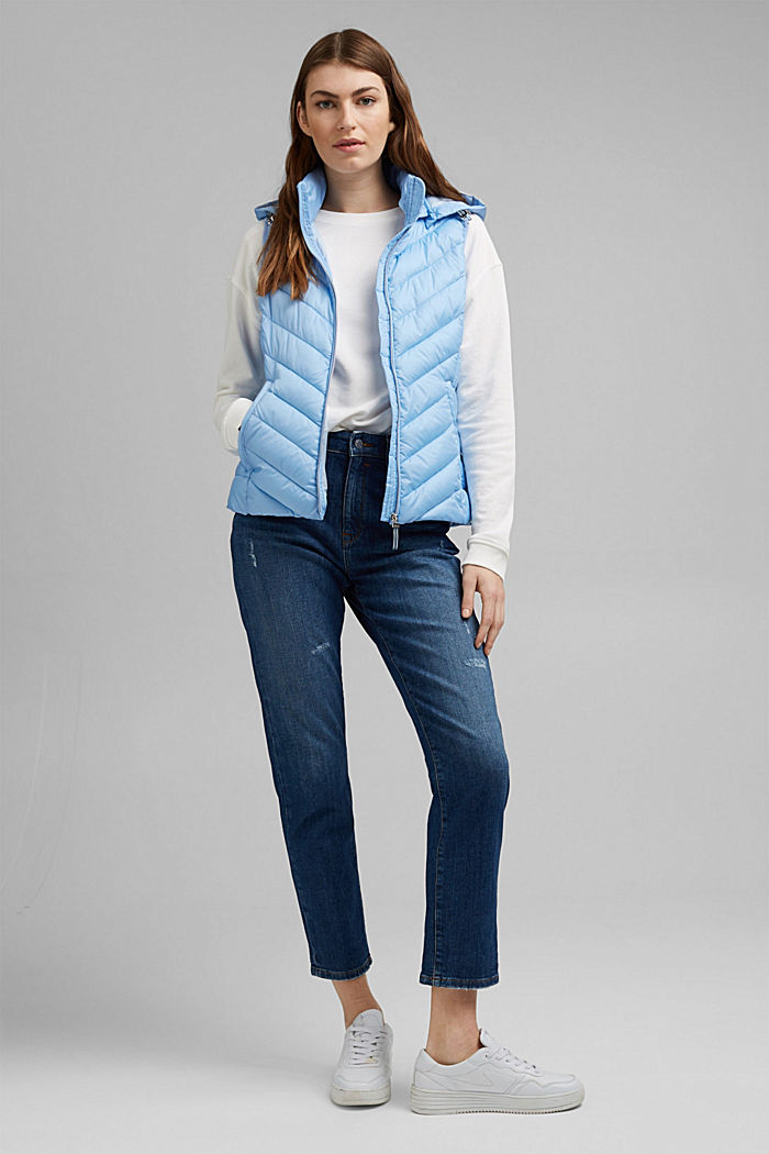 Quilted body warmer with 3M™ Thinsulate™, LIGHT BLUE, detail image number 1