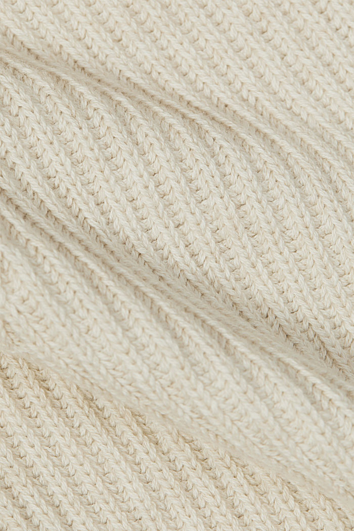 Pullover aus 100% Organic Cotton, SAND, detail image number 4