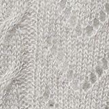 Mit Wolle und Alpaka: Ajour-Pullover, MEDIUM GREY, swatch