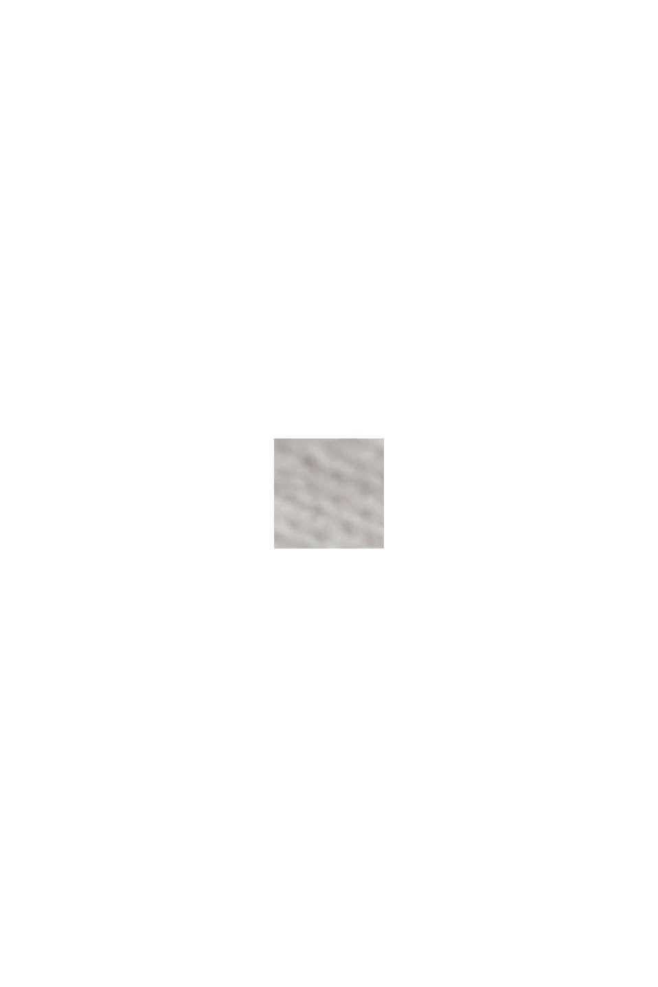 À teneur en lin: le pull-over basique à teneur en coton biologique, OFF WHITE, swatch