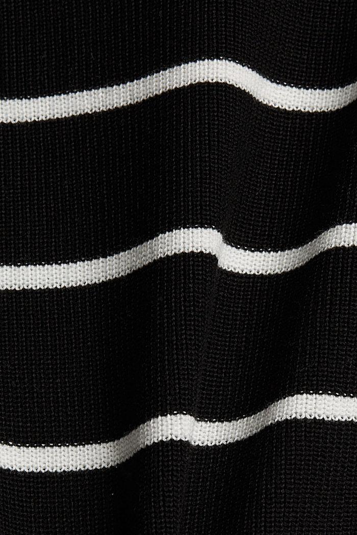 Jumper made of 100% organic cotton, BLACK, detail image number 4
