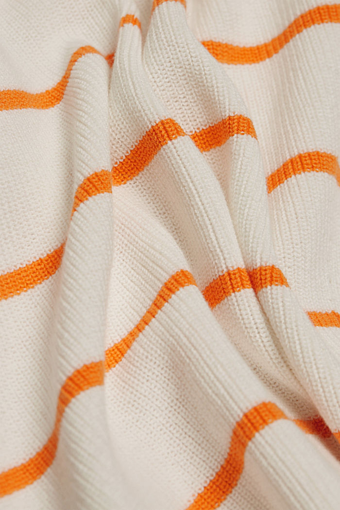 Pullover aus 100% Organic Cotton, NEW OFF WHITE, detail image number 4