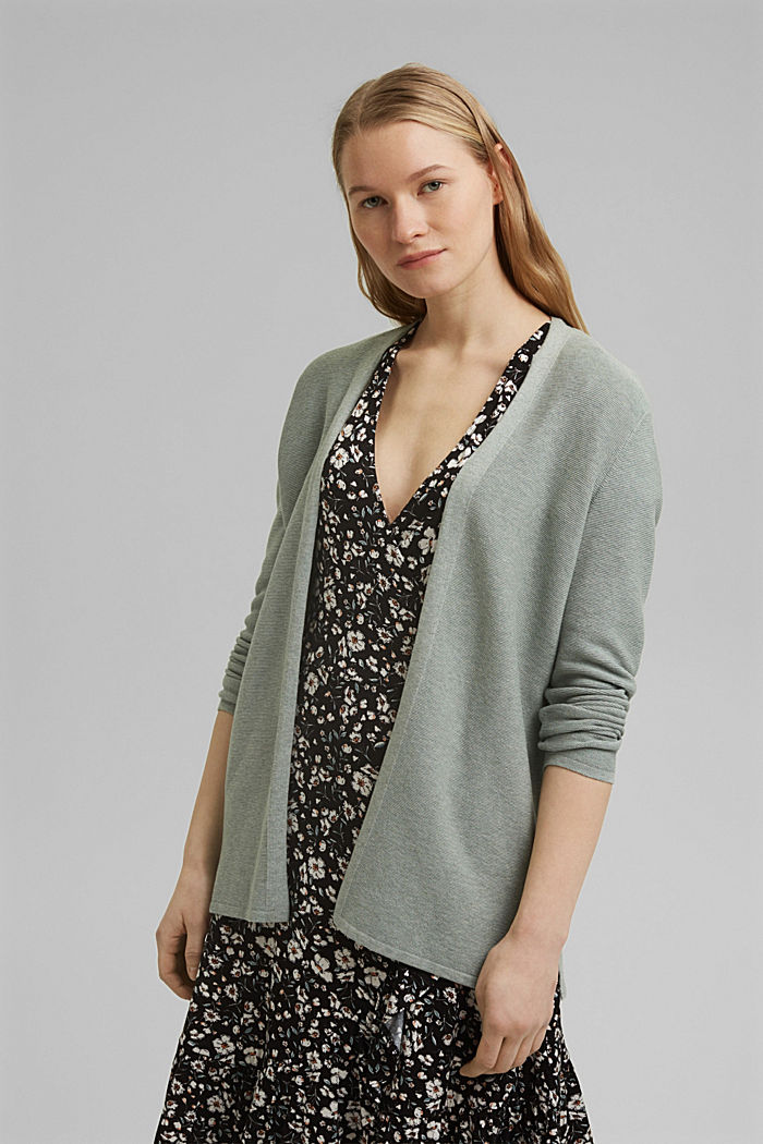 Cardigan made of 100% organic cotton