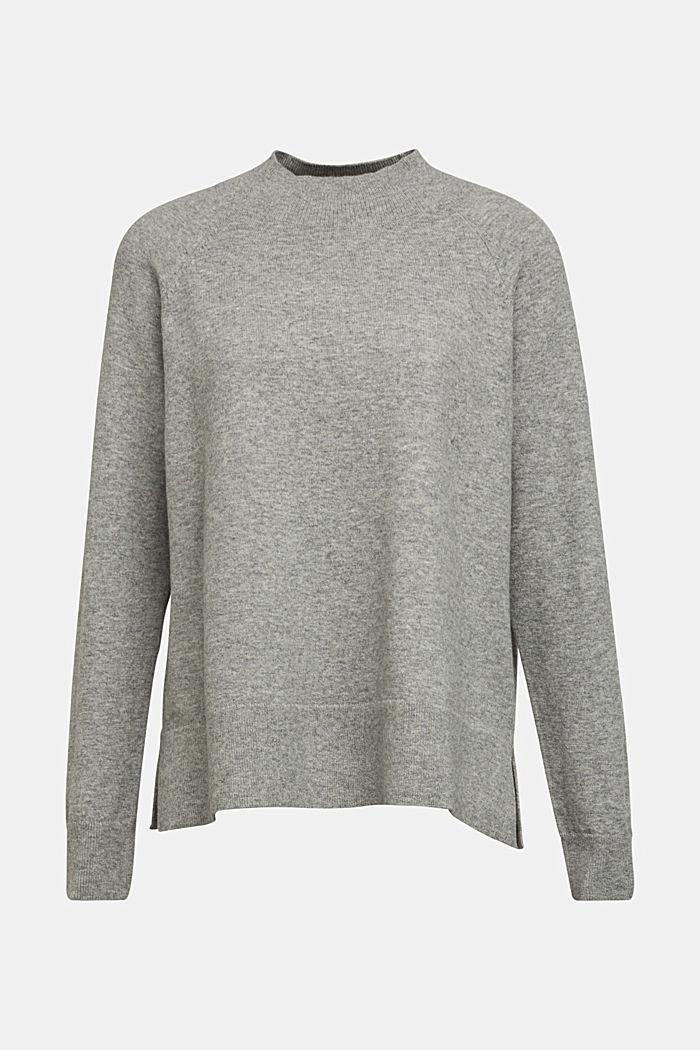 Mit Wolle: Pullover mit Organic Cotton