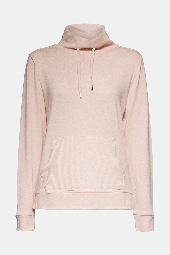 Knitted sweatshirt, NUDE, detail image number 6