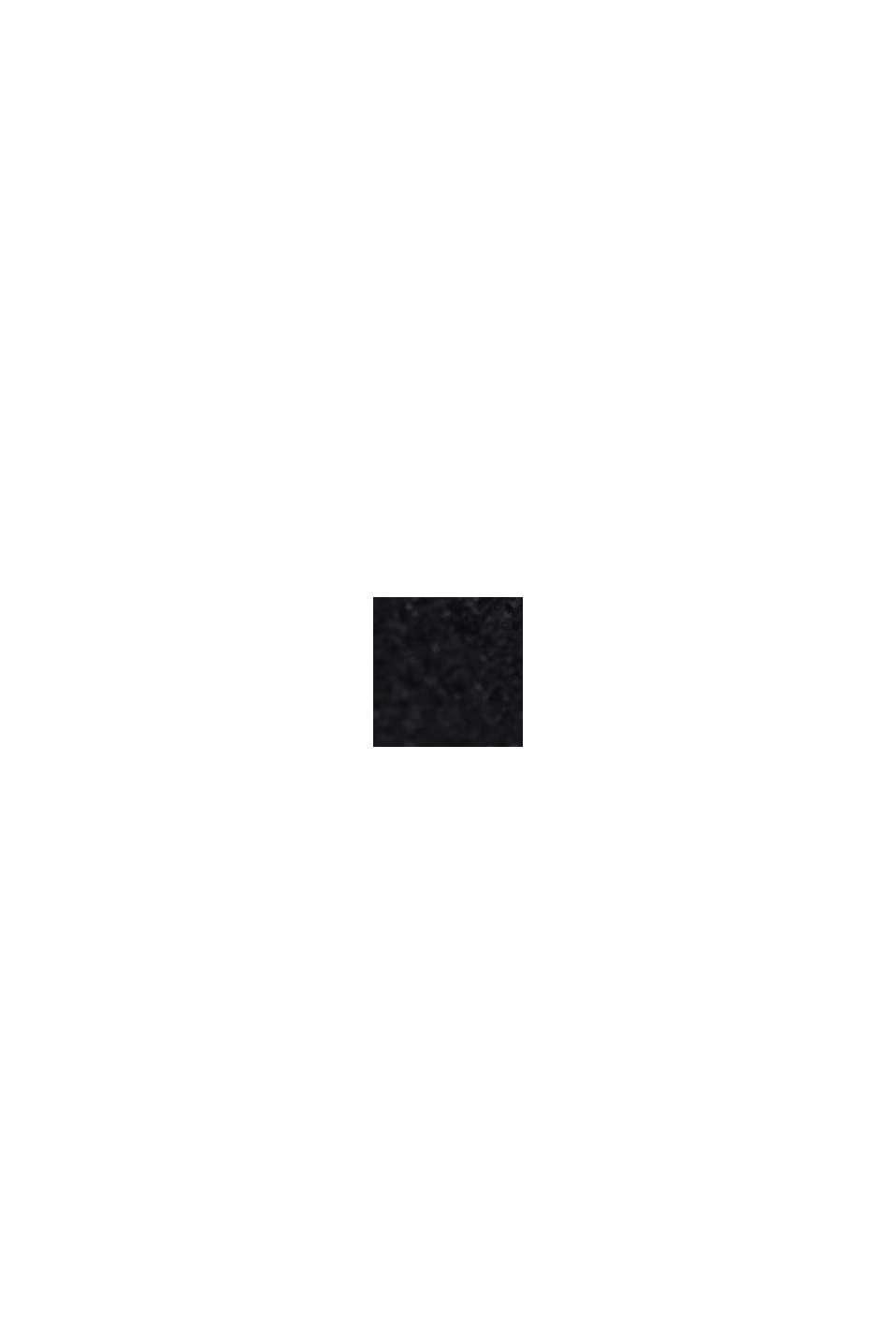 Sweat-shirt à détail drapé, BLACK, swatch