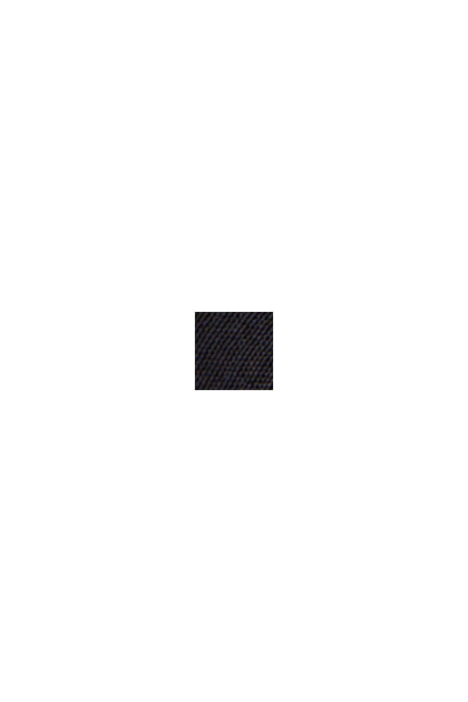 Maglia in materiale misto con LENZING™ ECOVERO™, NEW BLACK, swatch