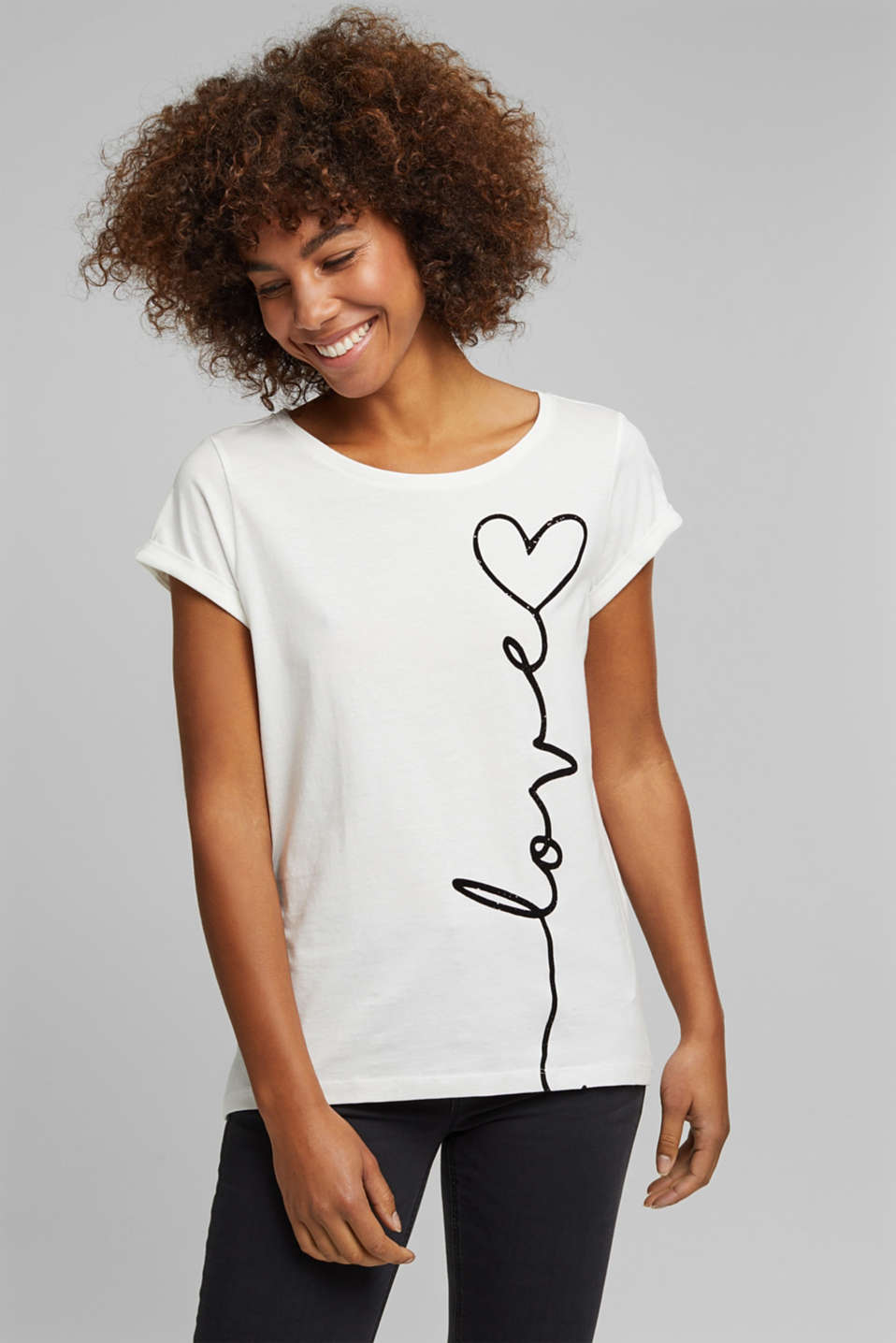 Esprit - T-Shirt aus 100% Organic Cotton