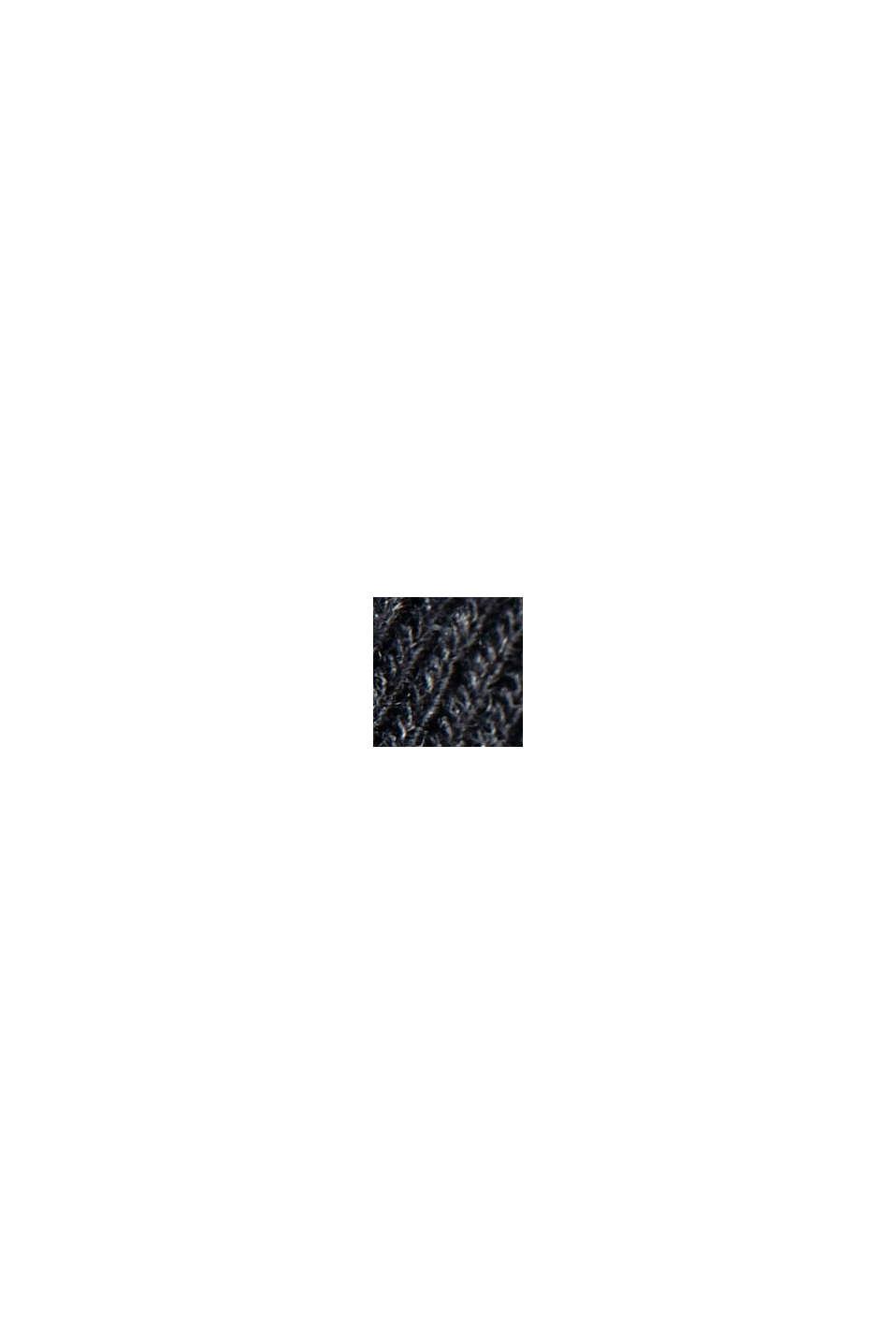 Hoodie mit LENZING™ ECOVERO™, BLACK, swatch