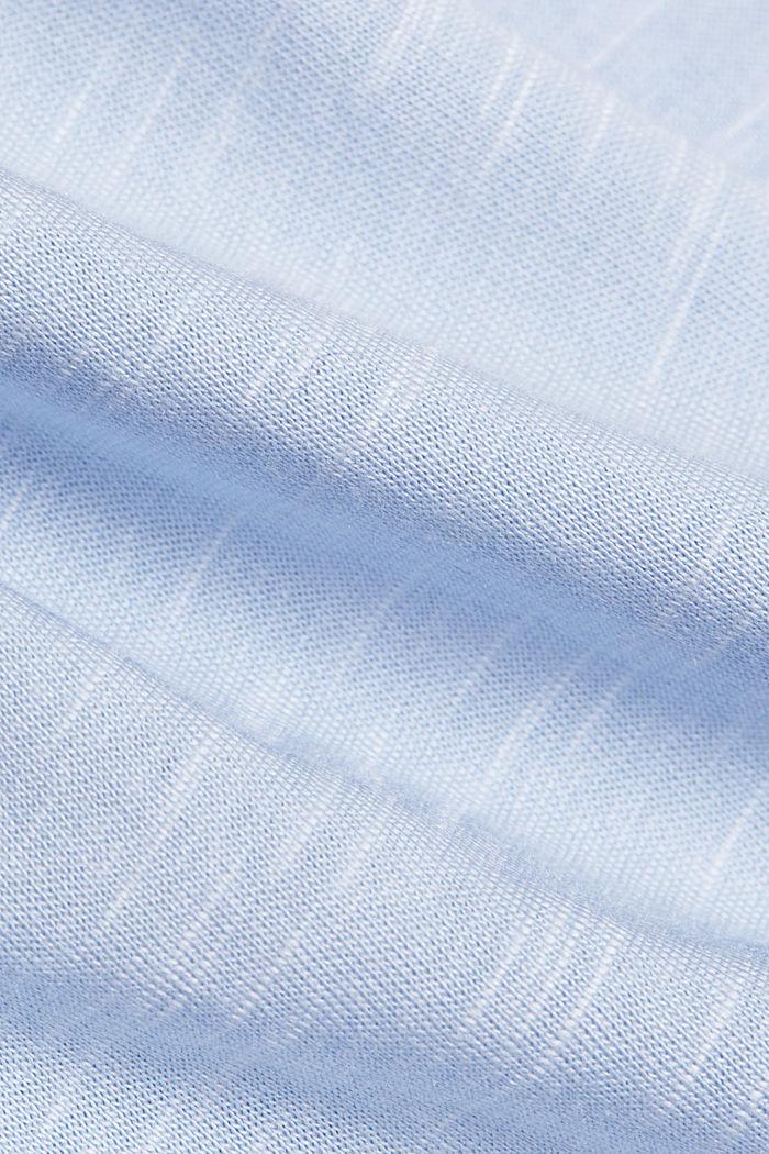 Jersey-Shirt mit Organic Cotton, PASTEL BLUE, detail image number 4