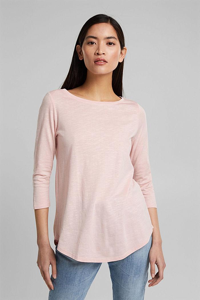 Organic cotton-jersey T-shirt, NUDE, detail image number 0