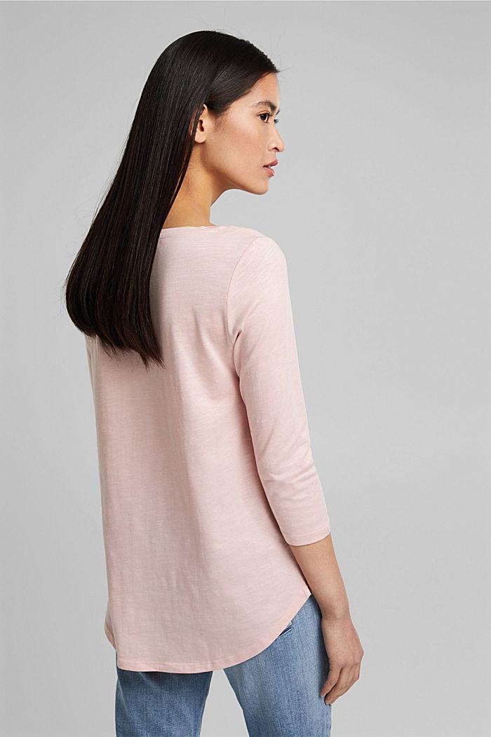 Jersey-Shirt mit Organic Cotton, NUDE, detail image number 3