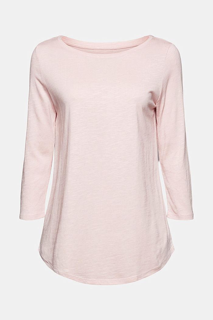 Jersey-Shirt mit Organic Cotton, NUDE, detail image number 6