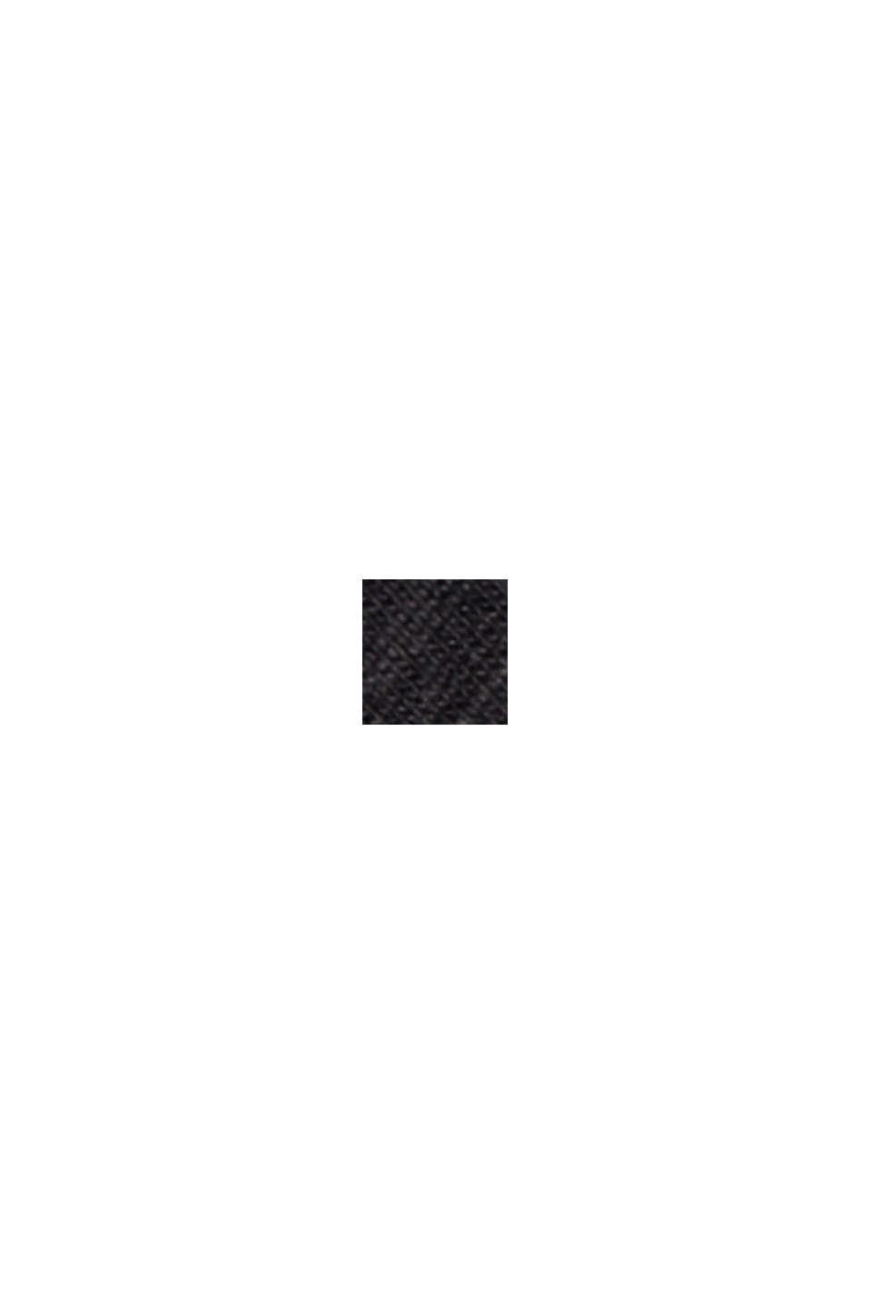Streifen-Shirt aus Bio-Baumwolle und TENCEL™, BLACK, swatch