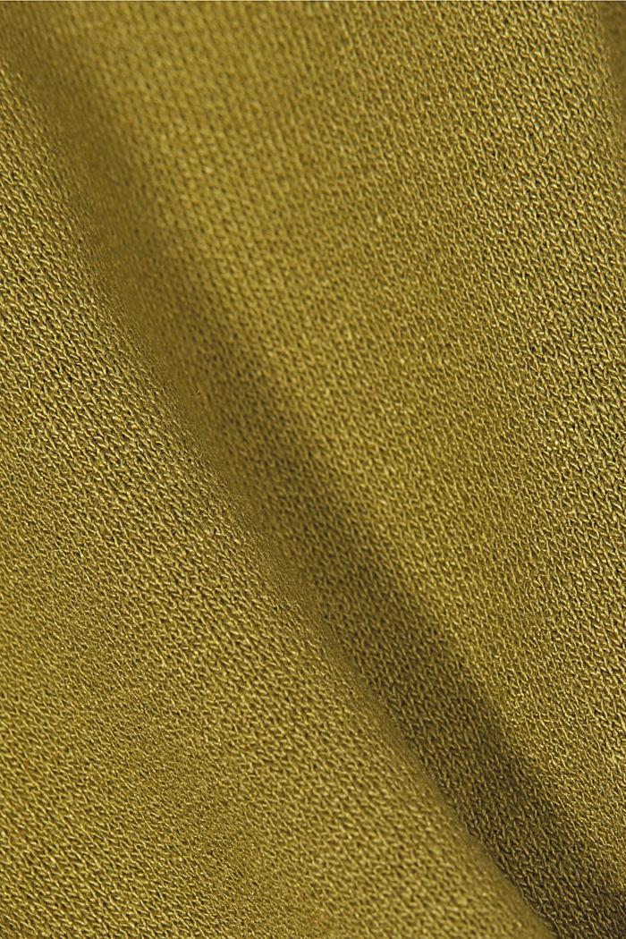 Longsleeve van LENZING™ ECOVERO™, OLIVE, detail image number 4